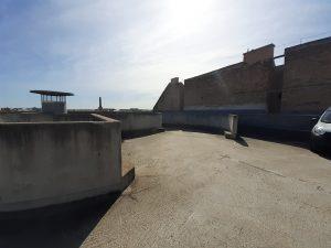 Parkolóház teteje, Orzcy tér