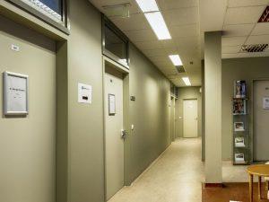 MedCity Egészségközpont folyosó